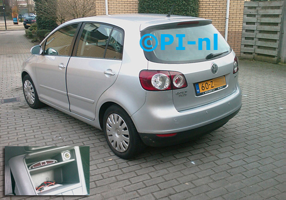 Volkswagen Golf (5) Plus uit 2008. De display (set A 2010) werd in de middenconsole gemonteerd.