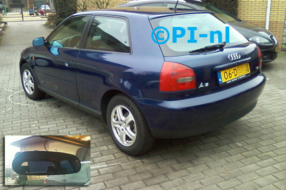 Audi A3 uit 2000. De display (set C) is het 'spiegelmodel'.