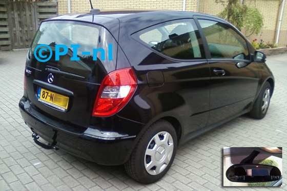 Mercedes-Benz A160 BlueEfficiency uit 2010. De display (set C 2012) is het 'spiegelmodel'.